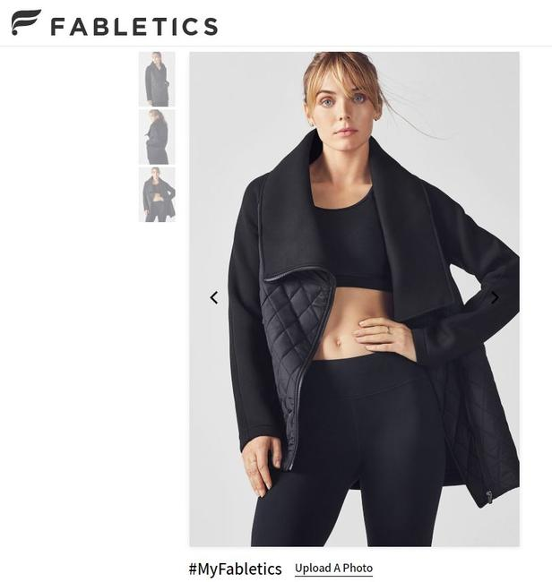 Fabletics Black Jacket