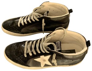 Golden Goose Deluxe Brand black Athletic