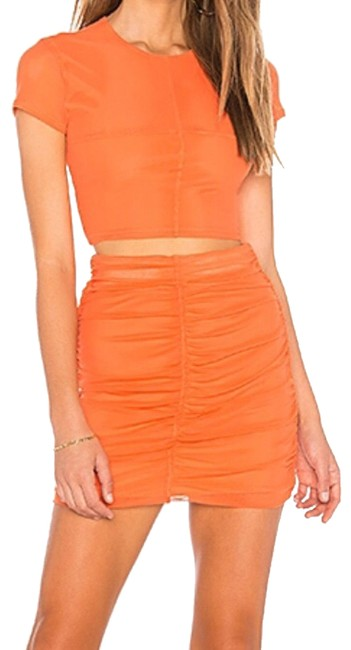 Preload https://img-static.tradesy.com/item/25011941/nbd-orange-sydel-mesh-cropped-top-and-roughed-skirt-short-night-out-dress-size-4-s-0-1-650-650.jpg