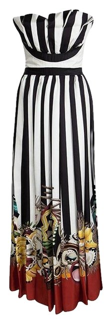 Preload https://img-static.tradesy.com/item/25011946/dsquared2-multicolor-tribal-couture-printed-striped-silk-strapless-casual-maxi-dress-size-4-s-0-1-650-650.jpg