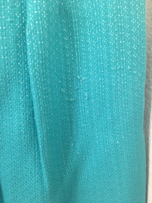 Anthropologie Pencil Spring Eva Franco Skirt Turquoise