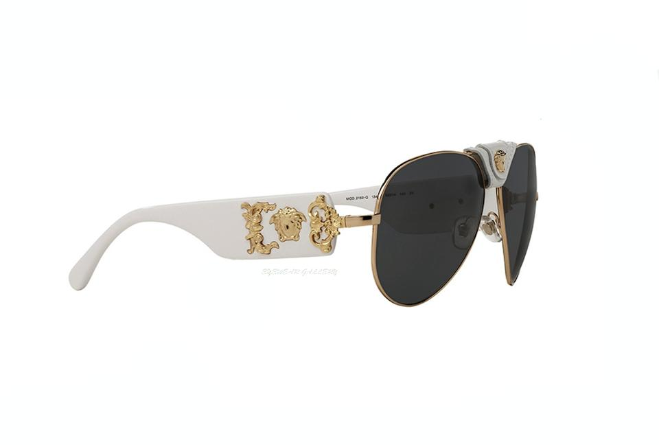 220fd9eb12 Versace VE 2150-Q 1341 87 VERSACE Aviator FREE 3 DAY SHIPPING Image 0 ...