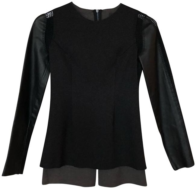 Preload https://img-static.tradesy.com/item/25012090/stella-and-jamie-long-sleeve-leather-and-crochet-blouse-size-6-s-0-1-650-650.jpg