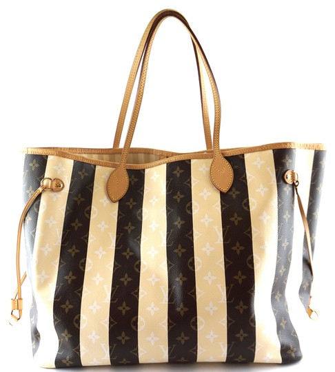 Preload https://img-static.tradesy.com/item/25012149/louis-vuitton-neverfull-28153-gm-large-gm-tote-work-extremely-rare-monogram-and-creamy-color-stripes-0-1-540-540.jpg