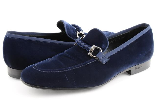 Item - Blue Lord 2 Velvet Slip-on Loafers Shoes