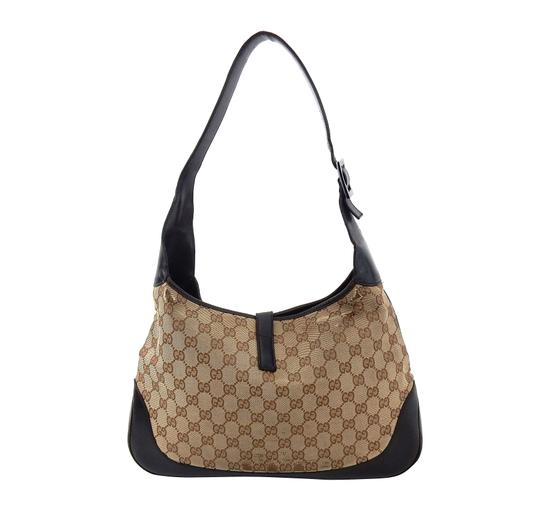 Gucci Vintage Monogram Web Jackie Shoulder Bag