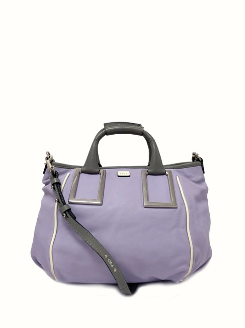 Item - Ethel Wisteria Medium Purple Leather Satchel