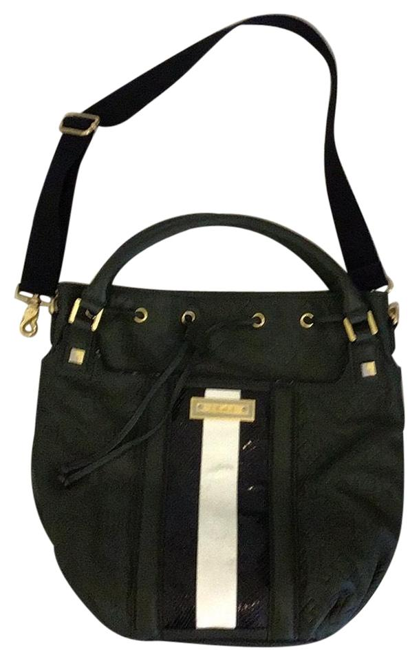 L A M B Lamb Dorset Collection Dark Green Leather Hobo Bag 66 Off Retail