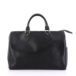 Louis Vuitton Leather black Travel Bag