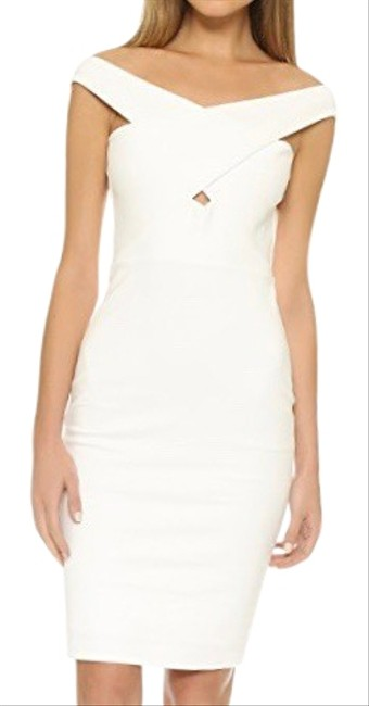 Item - White 505284573 Mid-length Cocktail Dress Size 0 (XS)