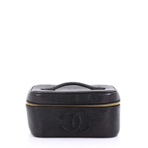 1c9f577306dc Chanel Vintage Timeless Cosmetic Case Caviar