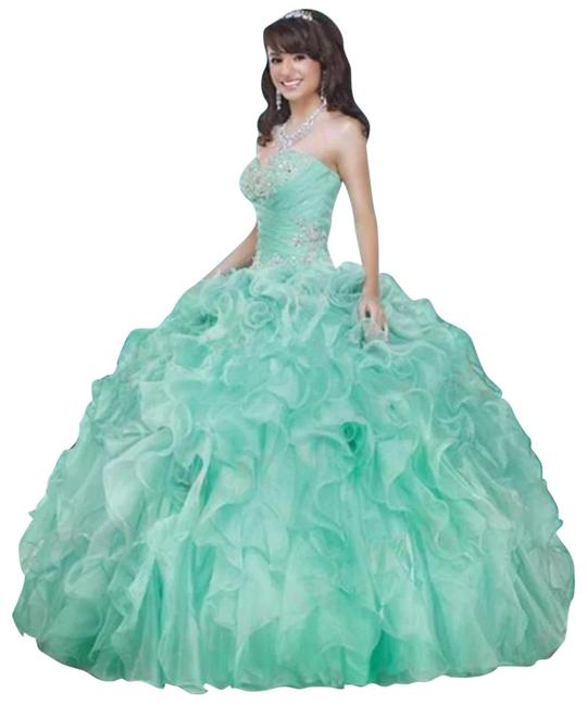Item - Baby Green Prom Party Long Formal Dress Size 8 (M)