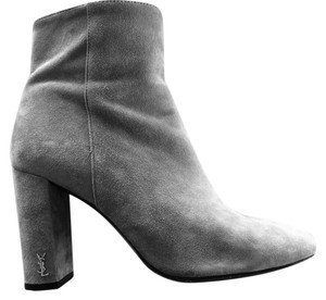 Saint Laurent Gray Boots
