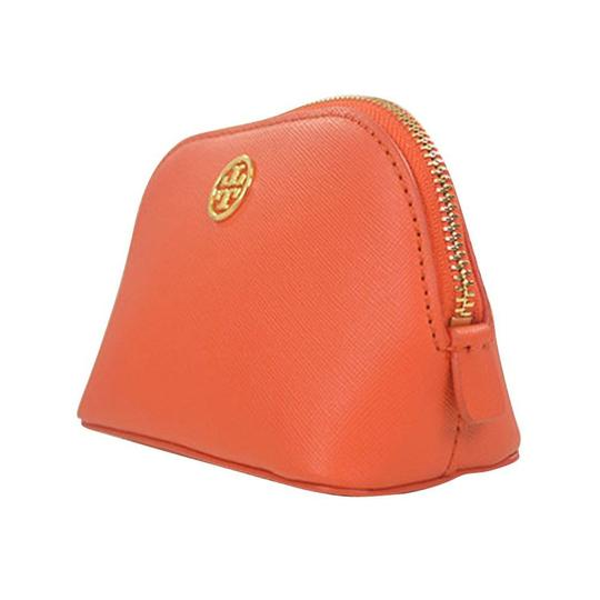 Preload https://img-static.tradesy.com/item/25013467/tory-burch-blood-orange-robinson-domed-cosmetic-bag-0-1-540-540.jpg