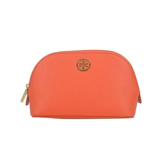 Tory Burch Robinson Domed Cosmetic Case Bag Image 1