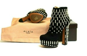 ALAÏA Best Of The Best New Retail Great Value Black Boots