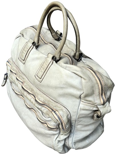 9f906a9a8a220 Sissi Rossi Leather Soft Structures Weekender Satchel in Sissi Rossi tan  Image 0 ...