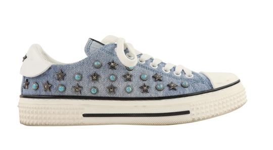 Valentino Sneakers Blue Athletic Image 0
