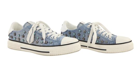 Valentino Sneakers Blue Athletic Image 1