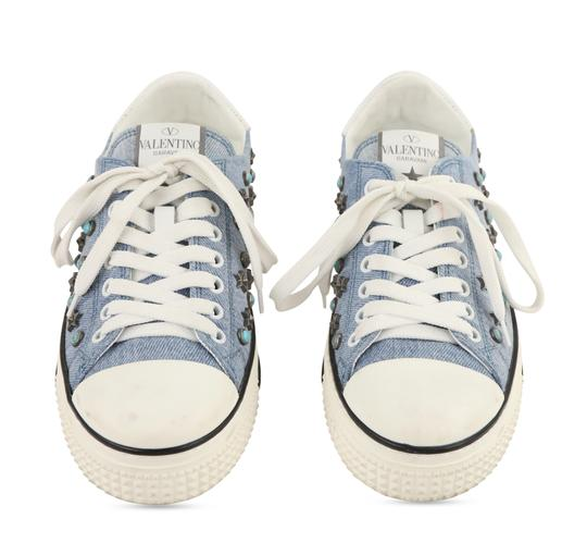 Valentino Sneakers Blue Athletic Image 2