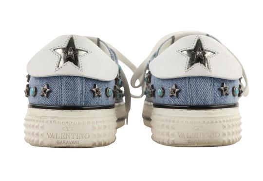 Valentino Sneakers Blue Athletic Image 3