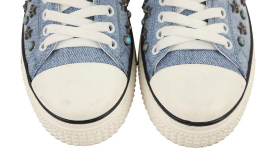 Valentino Sneakers Blue Athletic Image 5
