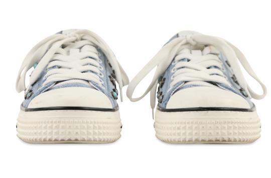 Valentino Sneakers Blue Athletic Image 6
