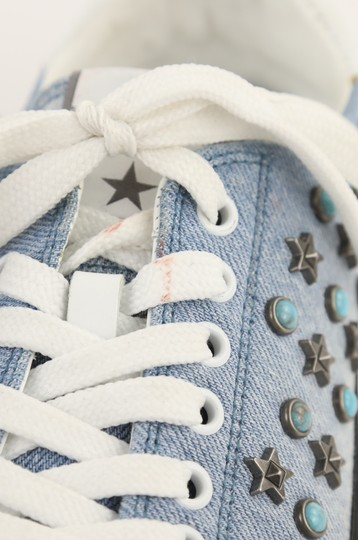 Valentino Sneakers Blue Athletic Image 7