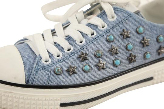 Valentino Sneakers Blue Athletic Image 8