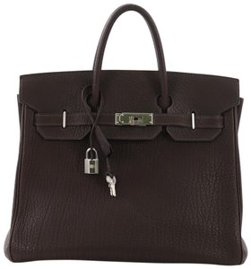 Hermès Tote in Ebene brown
