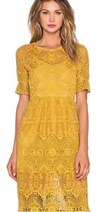 yellow Maxi Dress by For Love & Lemons