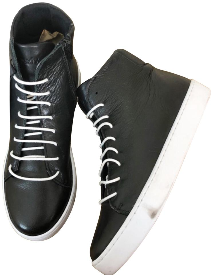 730336c0 Sixtyseven Black Irma Leather High Tops Sneakers Size EU 38 (Approx. US 8)  Regular (M, B) 36% off retail