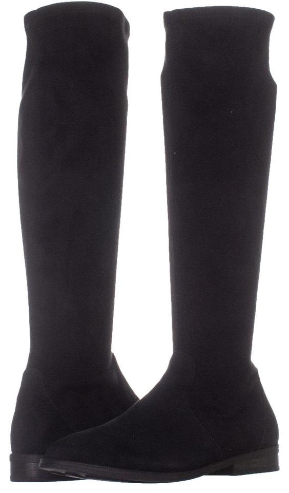 0ba5661a4e8 Gentle Souls Black Emma Stretch Over The Knee 071   40 Eu Boots Booties