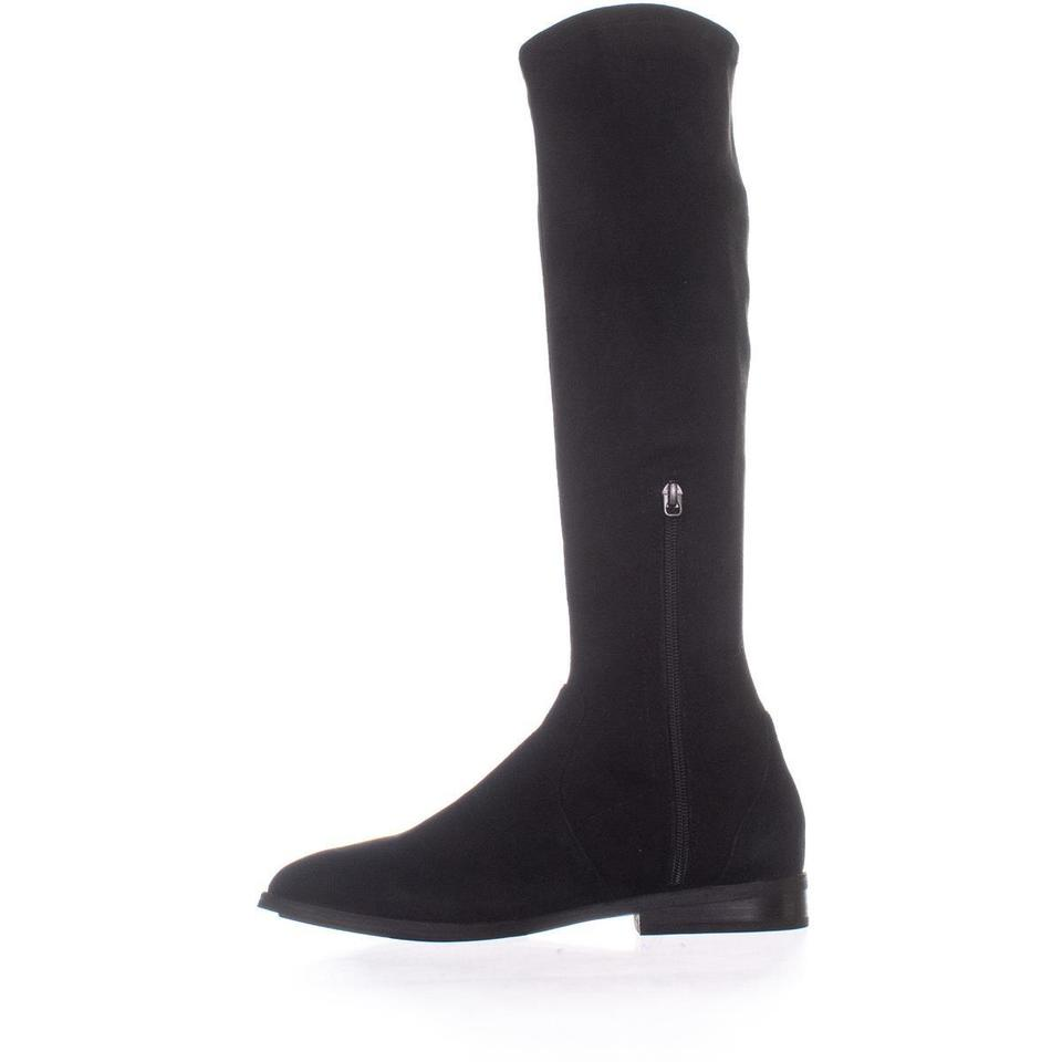 7722299d713 Gentle Souls Black Emma Stretch Over The Knee 071   40 Eu Boots Booties  Size US 9 Regular (M