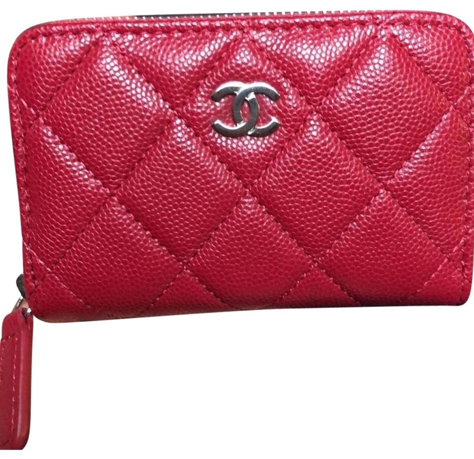 f9ca716c59f2 Chanel Classic Zippy O Coin Purse/Wallet Raspberry Pink Leather ...