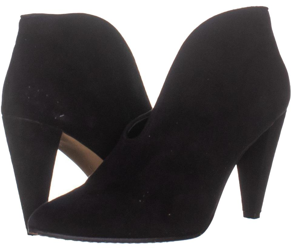 49f3f63a019 Vince Camuto Black Eckanna Ankle 743 Suede / 38.5 Eu Boots/Booties Size US  8 Regular (M, B) 65% off retail