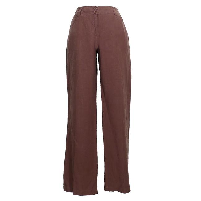 Item - Cocoa Brown Spring Linen 5 Pocket Jean S Pants Size 6 (S, 28)