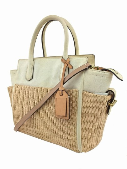 Reed Krakoff Gold Hardware Tote in White/Ivory Image 4
