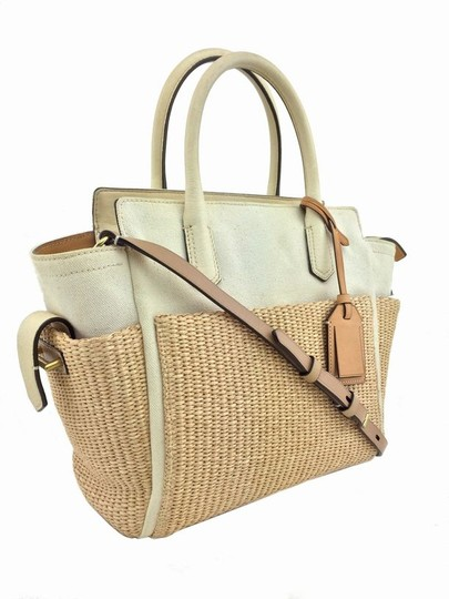 Reed Krakoff Gold Hardware Tote in White/Ivory Image 5