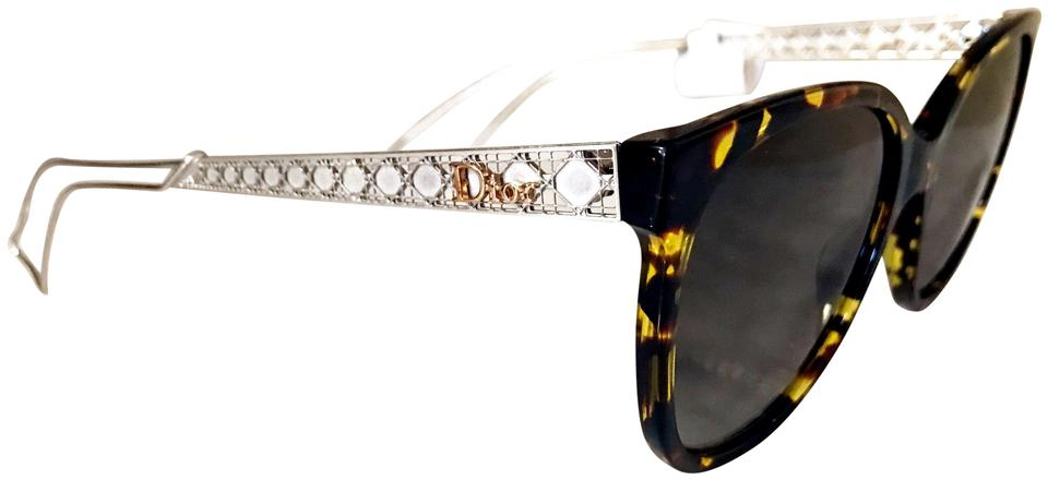 2bce1743d97b Dior NWT New Diorama3 Brown Tortoise Shell Hollow Arm Gradient Sunglasses  Image 0 ...