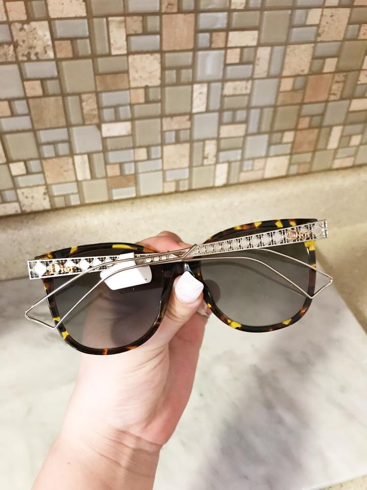 1315ad35c1ee Dior NWT New Diorama3 Brown Tortoise Shell Hollow Arm Gradient Sunglasses  Image 10. 1234567891011