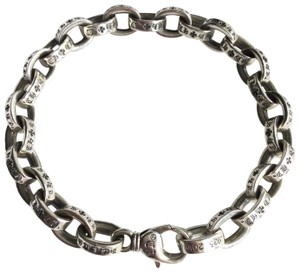 68896ffcc584 Chrome Hearts 8MM PAPER CHAIN STERLING SILVER BRACELET