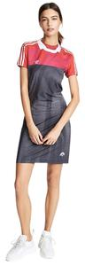 adidas Originals by Alexander Wang short dress Black, red, and pink on Tradesy