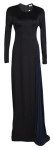 Black Maxi Dress by ISSA London Contrast Detail