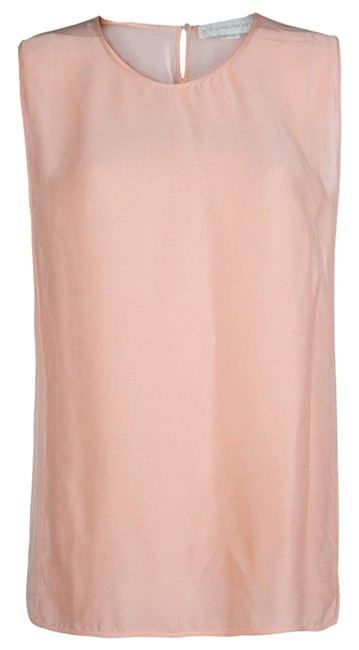 Preload https://img-static.tradesy.com/item/25016963/stella-mccartney-pink-light-sleeveless-m-blouse-size-8-m-0-1-650-650.jpg