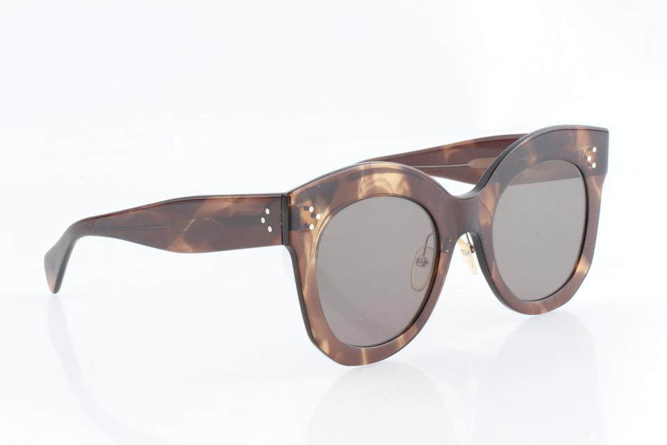 7ea9099c1f07 Céline Brown Cl41443 S Sunglasses - Tradesy