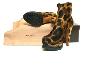 ALAÏA Best Of The Best Brown Boots