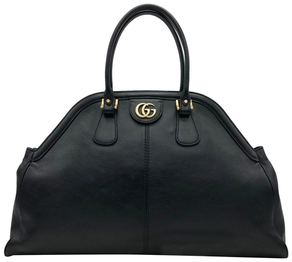 977b994a14a Gucci Marmont RE(BELLE) Tiger Rebelle Large Top Handle New Black ...