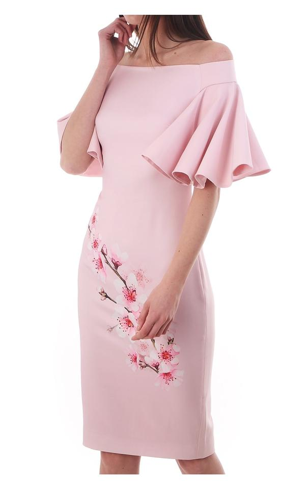2474f7219 Ted Baker Pink Calinda Soft Blossom Bardot Mid-length Formal Dress ...