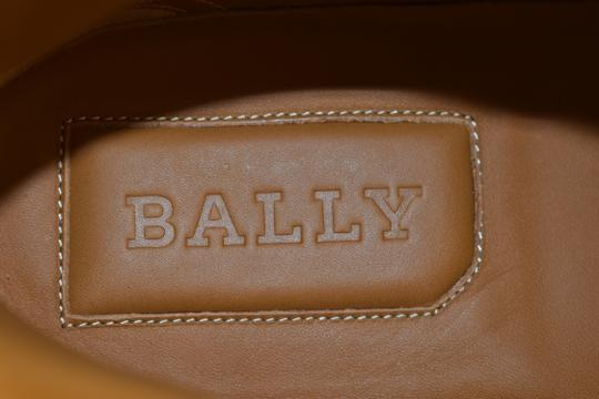 Bally Blue Herick Ink Patent Leather Hi Top Stripe Logo Sneakers 8.5 Us 41.5 Shoes Image 7